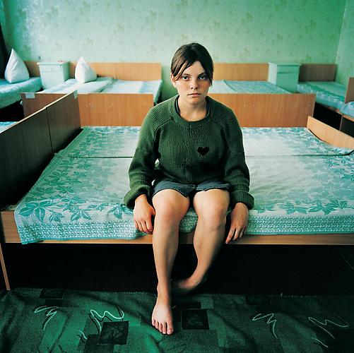 Michal Chelbin,  Katya, sentenced for theft. Juvenile Prison for Girls, Ukraine , 2009
