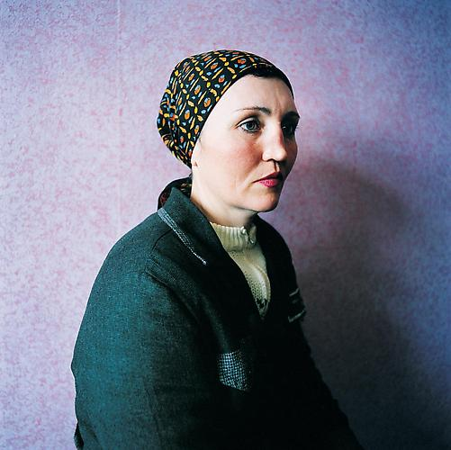 Michal Chelbin,  Ira, sentenced for theft. Women's Prison, Ukraine , 2009