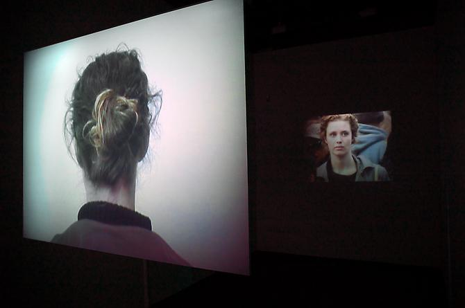 Les Uns et Les Autres  (installation view), 2011  Three channel video installation, continuous loop   View More  ➤