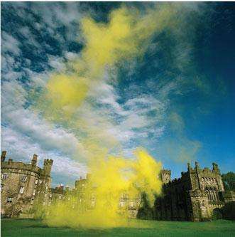 Simon Patterson Landskip (Kilkenny Castle), 2008. Unique digital c-print, 50 x 51 inches.
