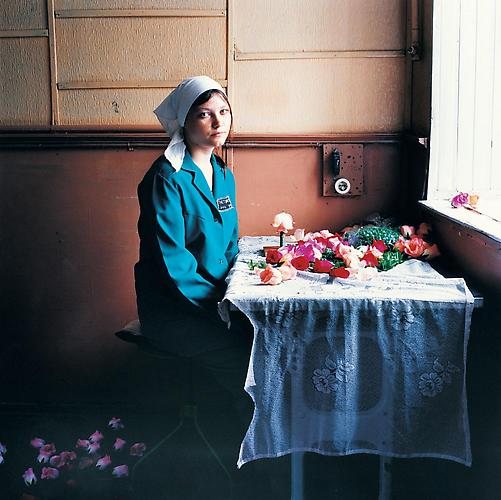 Nadia, Women's Prison, Ukraine , 2010 C-Print 37 x 37 inches Edition of 7