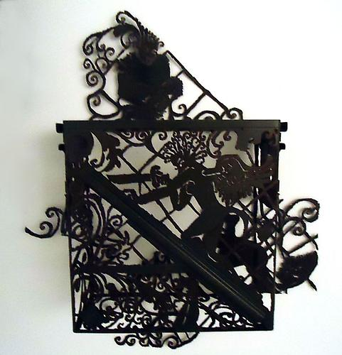 Messenger of Combat I, 2011. Steel Ammunition Box, 25 x 22 x 5 1/2 inches.