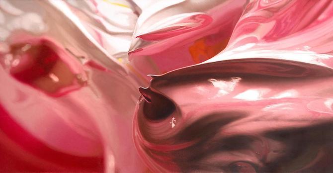 Ben Weiner Passage, 2012. Oil on canvas, 28 x 54 inches.