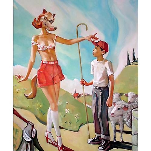 Oh, Little Shepherd Boy, 2008  Oil on canvas, 60 x 50 in.   View More  ➤