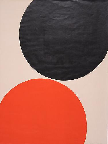 Leon Polk Smith Untitled, 1972. Acrylic on paper, 23 3/4 x 18 inches.