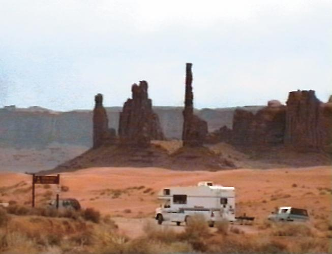 Monument Valley  (video still), 1999-2001 Single channel video installation, 8 minutes   View More  ➤