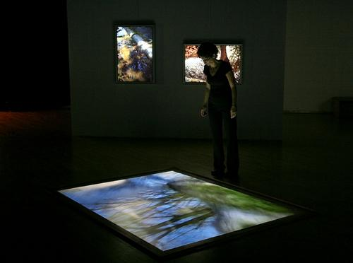 FLOW AND REFLECTION | INSTALLATION VIEW | LA MAISON DE LA CULTURE DU PLATEAU MONT-ROYAL | 2009   FEATURED EXHIBITION | THE SPACES OF THE IMAGE | LE MOIS DE LA PHOTO A MONTREAL | SEPTEMBER 10 TO OCTOBER 11, 2009