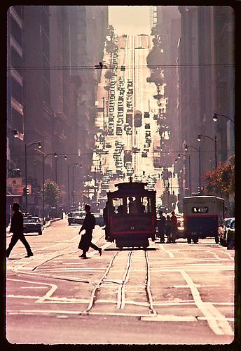 California Street Cable Car Line 1959 C-type on Fuji Crystal Paper