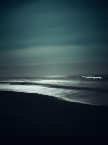 Waves and Moon, Sagaponack, New York edition 2/20 2010 archival pigment ink on paper