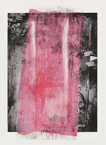 Tamar Halpern Untitled, 2011 Ultrachrome ink on paper 70 x 51 inches