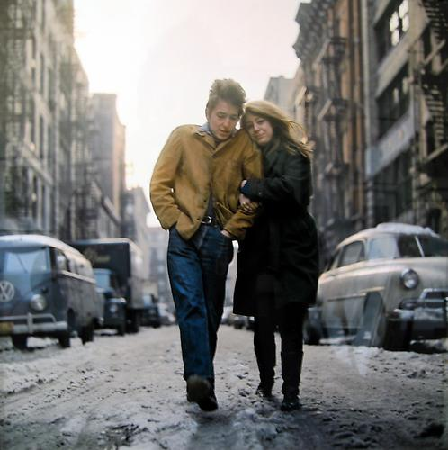 Bob Dylan & Suze, New York 1960 chromogenic print