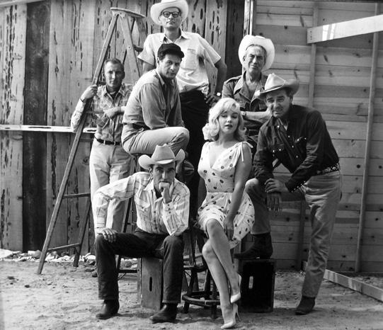 "Reno, Nevada [cast of ""The Misfits""] 1960 gelatin silver print"