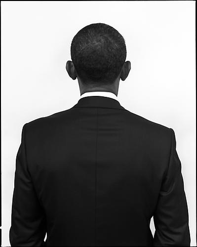 President Barack Obama, The White House, Washington, DC 2010 platinum/palladium