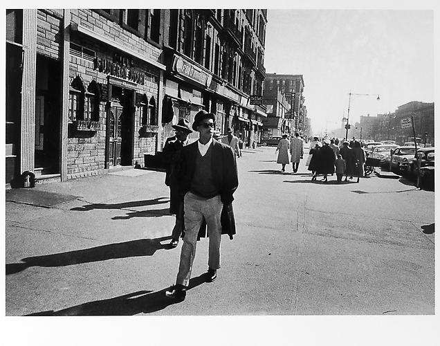 Man with Sunglasses on Easter Sunday mid 1950s Gelatin Silver Print
