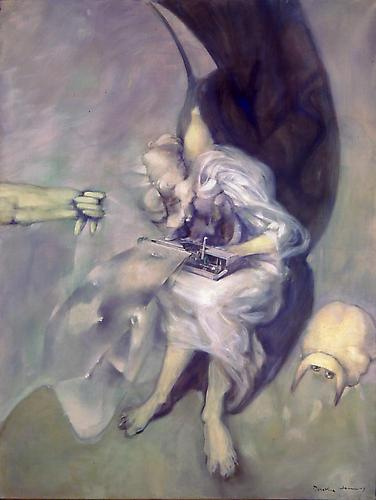 DOROTHEA TANNING  Stanza , 1978 Oil on canvas, 51 x 38 in.   View More  ➤