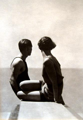 The Divers [Horst P. Horst and model] 1930 gelatin silver print
