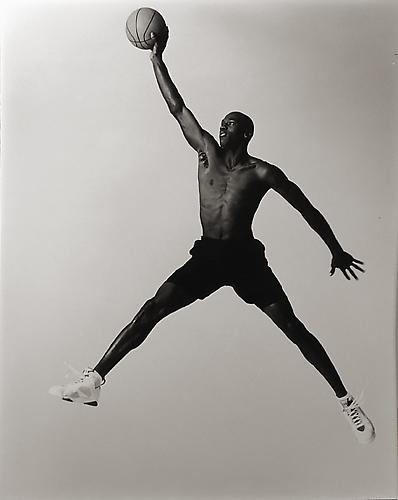 Michael Jordan, New York City 1991 Gelatin Silver Print