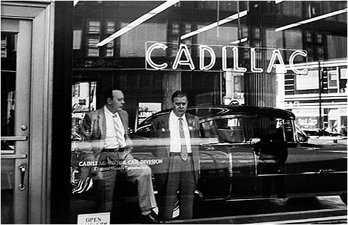 Cadillac Blues, New York 1955 Gelatin Silver Print