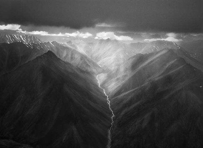 The Eastern Part of the Brooks Range 2009 gelatin silver print