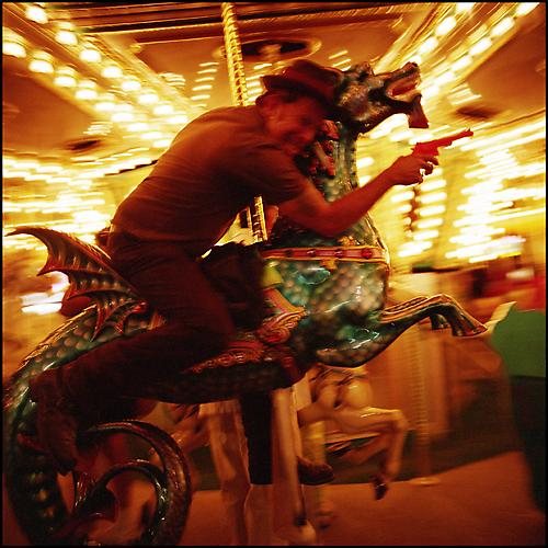 Tom Waits, Santa Rosa County Fair 2004 archival ink jet print