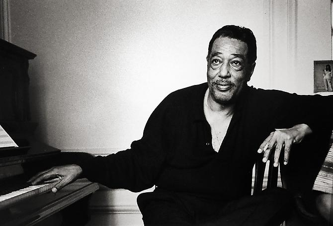 Duke Ellington, Paris 1960 gelatin silver print