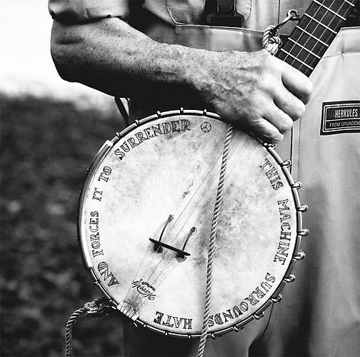 Pete Seeger, Croton on Hudson, New York 2001 Gelatin Silver Print