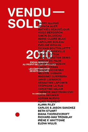 "JESSICA AUER TO APPEAR IN ""VENDU - SOLD"" AN AUCTION TO BENEFIT MONTREAL'S ESSE MAGAZINE ON NOVEMBER 17, 2010"