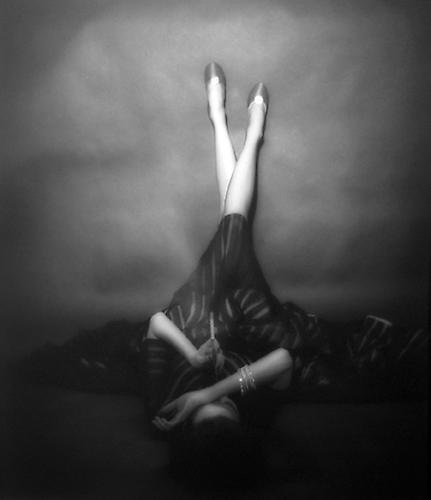 The Well Dressed Leg, Dorian Leigh 1948 gelatin silver print