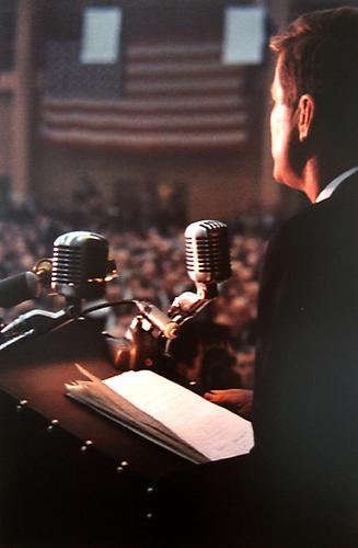 Campaign Speech 1960 chromogenic print