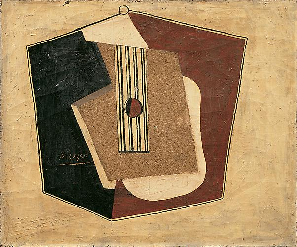  Guitare, 1918 (Guitar), 1918 