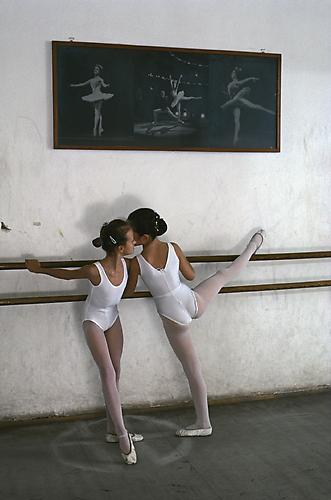 Ballet Dancers, Zagreb, Croatia 1990 C-type print on Fuji Crystal Archive paper