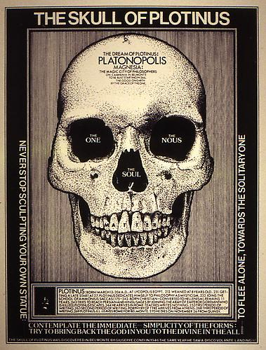 THE SKULL OF PLOTINUS, 2001 Silkscreen on rag paper No. 3 from an edition of 100, 16 x 12 in.  Price upon request
