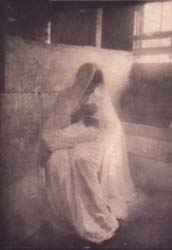 Gertrude Kasebier The Manger 1903 vintage photogravure, camera work