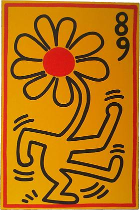 New Aquisition - K. Haring, 1989