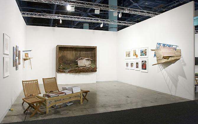Phillip Estlund Insane Terrain, 2009 Installation view Art Basel Miami Beach