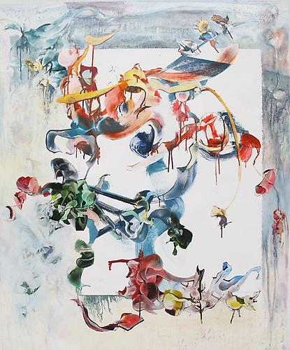 Nancy H. Taplin  Birds of Paradise , 2011 oil on rag paper, 44 x 36 inches Listing #3