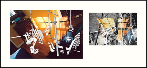 CHERYL PAGUREK | LATE MORNING 1 AND 2 | LIGHT JET PRINTS FRAMED TOGETHER | 31 X 63 INCHES | 2005