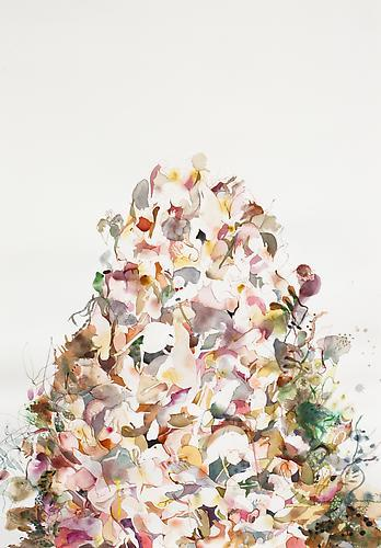Emilie Clark: Untitled (EHR 13)  from Sweet Corruptions (2012) Watercolor And Graphite  On Paper 42h x 29w in (106.68h x 73.66w cm)