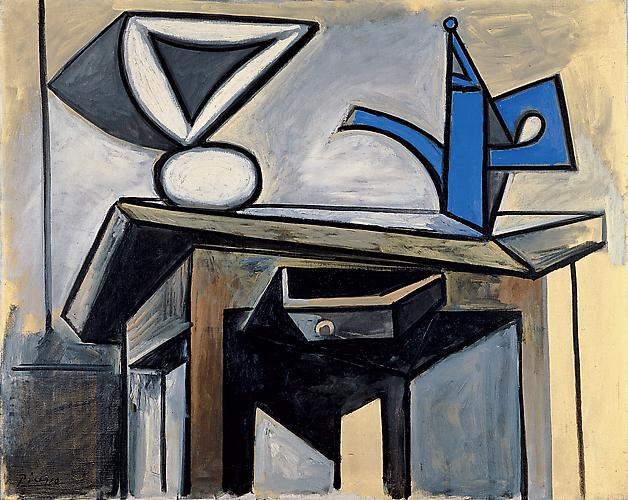  Nature Morte  la Caftire, 6 avril 1947 (Still Life with Coffee pot), 6 April 1947 