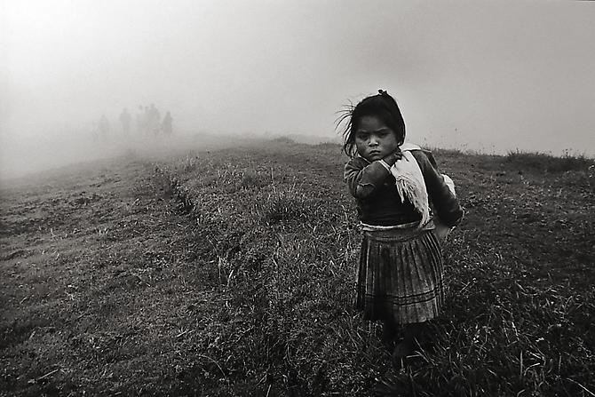 Girl in Field, The Community of Yuracruz, Ecuador 1998 Gelatin Silver Print