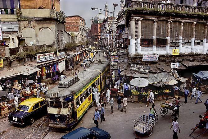 Calcutta Tram, India
