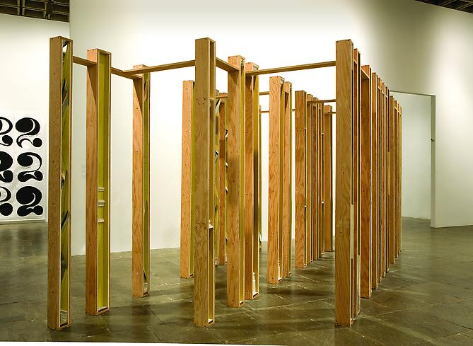 Installation view: Whitney Biennial 2008. Whitney Museum of American Art, New York, NY, March 6th - 23rd, 2008