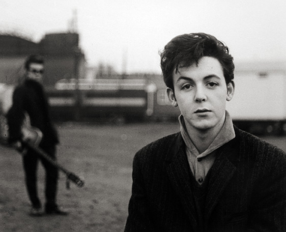 Paul McCartney, Hamburg Fun Fair, Heiligengeistfeld 1960 gelatin silver print