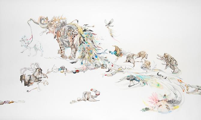 Laura Ball, Pandemonium (2011)
