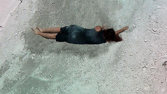 OLGA CHAGAOUTDINOVA | STONE ACHE 2 | VIDEO STILL | 2010