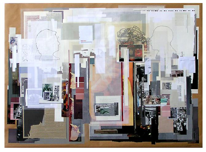 A Love Supreme, 2010 paper on paper 60 x40 inches