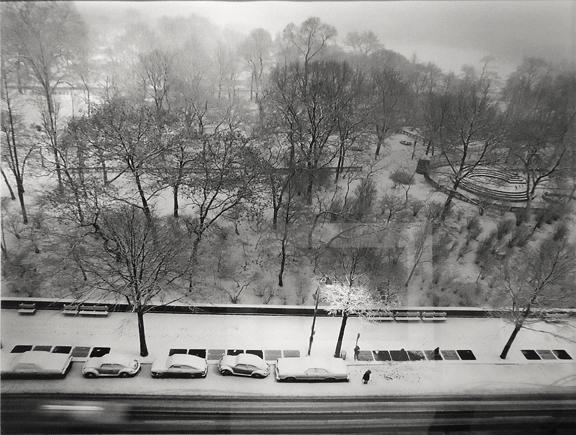 New York City [Central Park snow storm] 1977