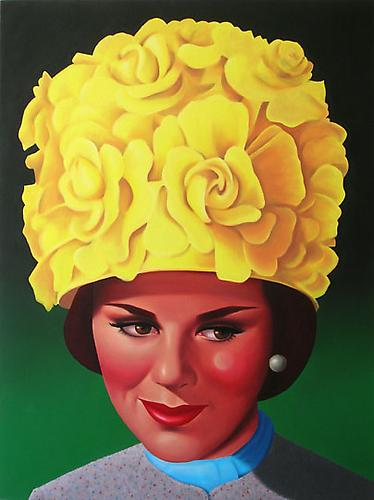 Velma, 2009 Oil on canvas 48 x 36 inches
