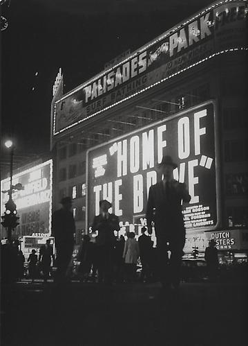 Home of Brave, New York 1947 gelatin silver print