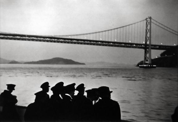 San Francisco, California [Golden Gate Bridge] 1955
